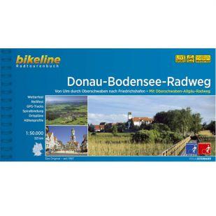 Donau-Bodensee/Oberschwalben-Allgäu-Radweg Bikeline Fietsgids (2020)