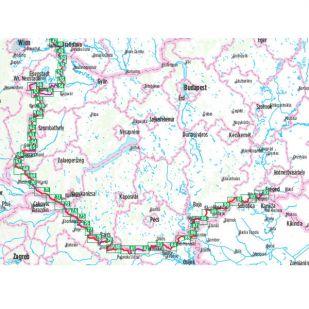 Iron Curtain trail 4 (Hof-Szeged) Bikeline Fietsgids