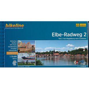 Elbe Radweg Dl 2 Magdeburg Cuxhaven Bikeline Fietsgids
