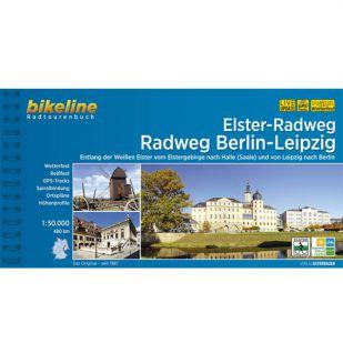 Elster Radweg/ Radweg Berlin - Leipzig Bikeline Fietsgids 480km