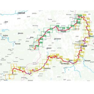 Ederradweg en Diemelradweg Bikeline fietsgids