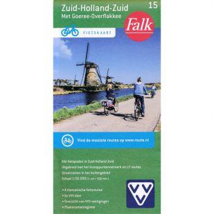 Fietskaart 15 Zuid-Holland-Zuid