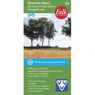 Fietskaart 4 Drenthe-West (2020)
