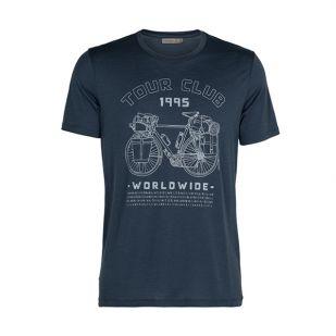 Icebreaker Men Tech Lite Shirt Tour Club