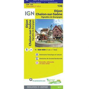 IGN 136 Dijon/Chalons-Sur-Saone