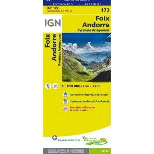 IGN 173 St-Gaudens/Andorre