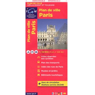 IGN stadsplattegrond Parijs