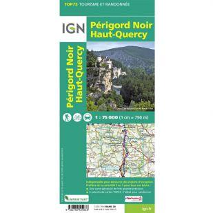 IGN Perigord-Noir (26) - Wandel- en Fietskaart
