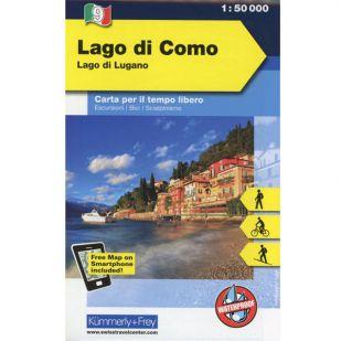 KF9 Lago di Como Outdoorkaart