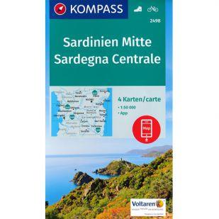 KP2498  Midden Sardinie - 4 kaartenset