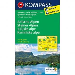 A - KP2801 Julische Alpen Steiner Alpen