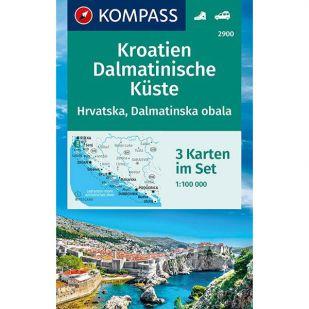 KP2900 Kroatien Dalmatinische Kueste (3 Set)