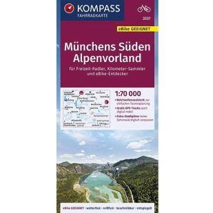 KP3337 Munchens Suden - Alpenvorland