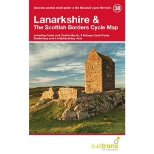 38. Lanarkshire & The Scottish Borders Cycle Map