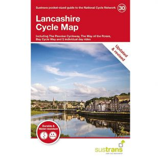 30. Lancashire Cycle Map