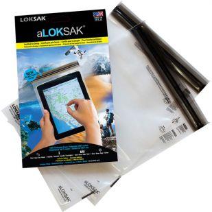 Loksak - waterdicht beschermhoesje 19,7 X 26,7 CM 2 ST. (Tablet / iPad)