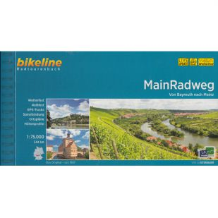 Main Radweg Bikeline Fietsgids !