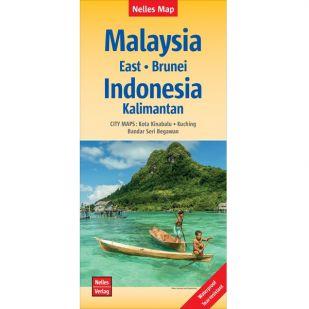 Nelles Indonesië - Maleisië Oost, Brunei, Kalimantan