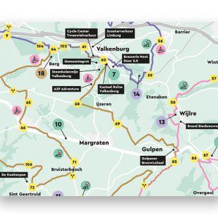 Visit Zuid-Limburg Mergelland Fietsroute