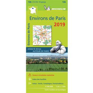 Michelin 106 Environs De Paris