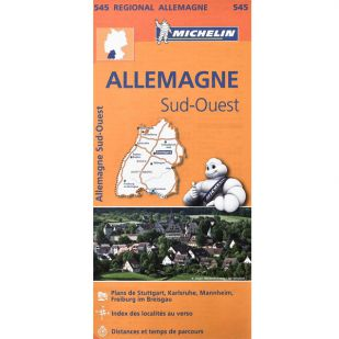 Michelin 545 Duitsland Zuid West
