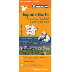 Michelin 573 Pais Vasco-Navarra-La Rioja