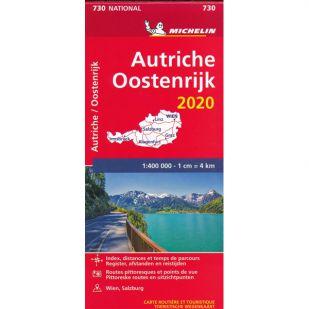 Michelin Wegenkaart 730 - Oostenrijk 2020