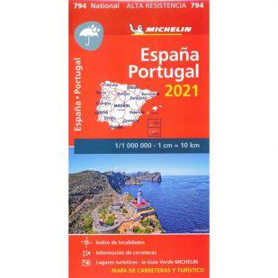 Michelin 794 Spanje & Portugal