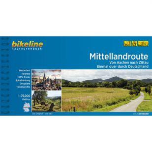 Mittellandroute Aachen - Dresden Bikeline Fietsgids