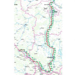 Moldau Radweg Bikeline Fietsgids