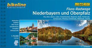 Fluss-radwege Niederbayern und Oberpfalz Bikeline Fietsgids
