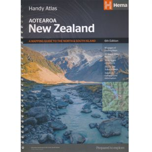 Nieuw-Zeeland Handy Atlas