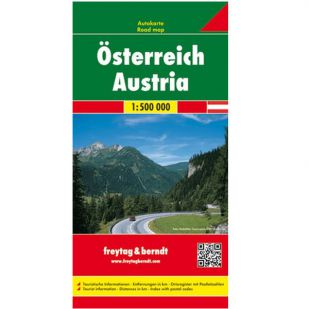 F&B Oostenrijk (1:500.000)