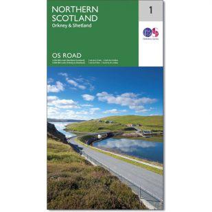 OS Road Map 1: Northern Scotland