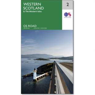 OS Road Map 2: Western Scotland