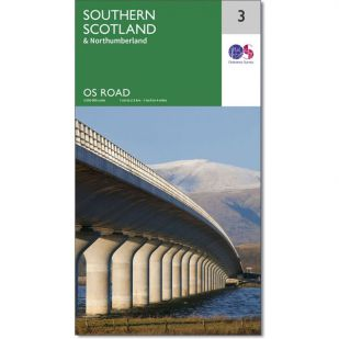 OS Road Map 3: Southern Scotland