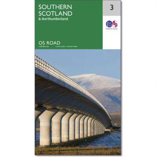 OS Road Map 3: Southern Scotland