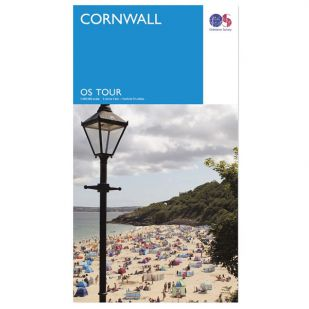 Cornwall OS Tour Map