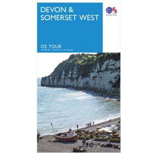 Devon & Somerset West OS Tour Map !