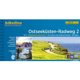 Ostseekusten Radweg 2 Bikeline Fietsgids
