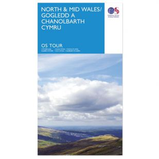 North & Mid Wales OS Tour Map