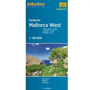 Radkarte Mallorca West RK-MALLO01