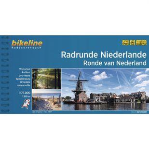 Radrunde Niederlande Bikeline Fietsgids 1386 km