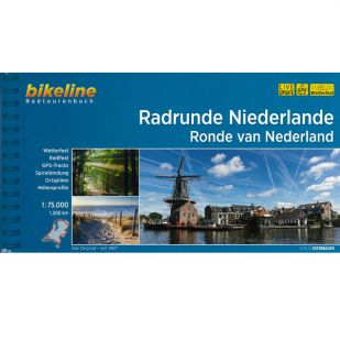 Radrunde Niederlande Bikeline Fietsgids 1300 km