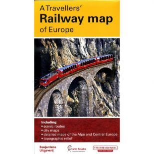 Railway Map Of Europe