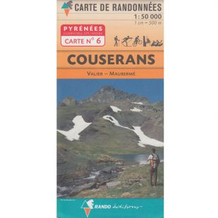 Pyrénées Carte no.6: Couserans