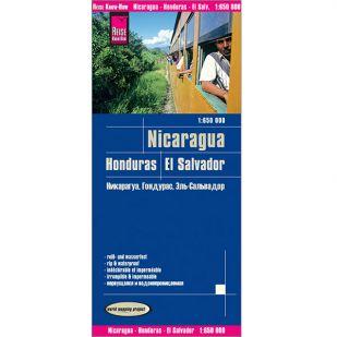 Reise-Know-How Nicaragua, Honduras en El Salvador