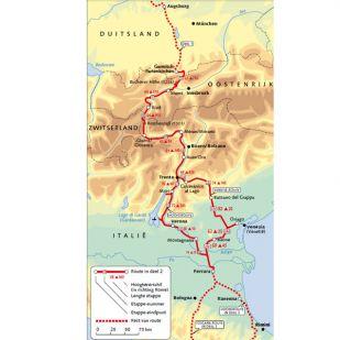 Reitsma's Route naar Rome deel 2 Garmisch P. - Ferrara (2019)