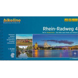 Rhein Radweg 4 Bikeline Fietsgids