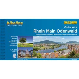 Radregion Rhein Main Odenwald Bikeline Fietsgids